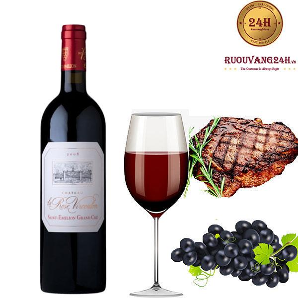 Rượu Vang Chateau La Rosen Vircoulon
