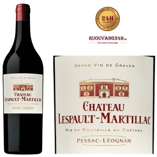Rượu Vang Chateau Lespault-Martillac