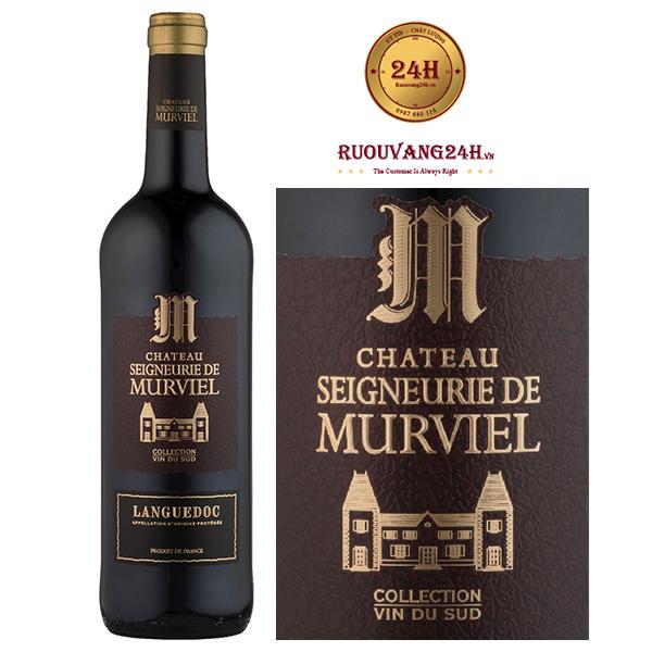 Rượu Vang Chateau Seigneurie De Murviel Collection Languedoc