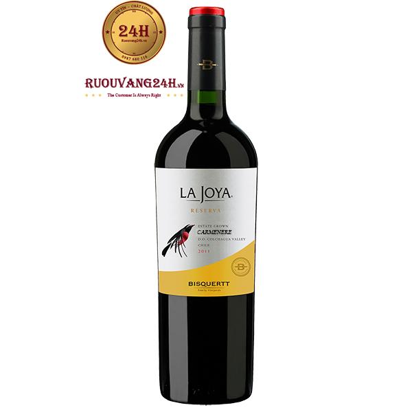 Rượu Vang Chile Bisquertt La Joya Reserva Carmenere