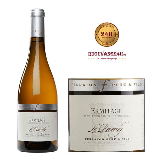 Rượu Vang Ferraton Père & Fils Ermitage Le Reverdy