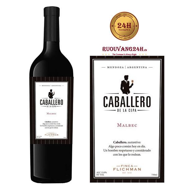 Rượu Vang Finca Flichman Caballero de la Cepa Malbec