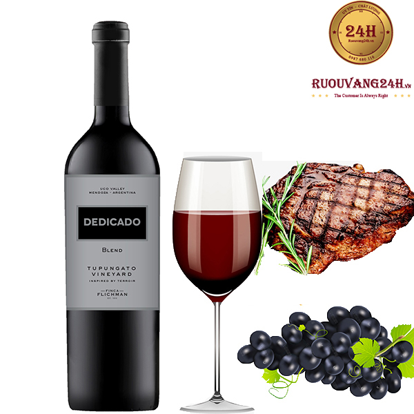 Rượu Vang Finca Flichman 'Dedicado' Tupungato Vineyard Blend