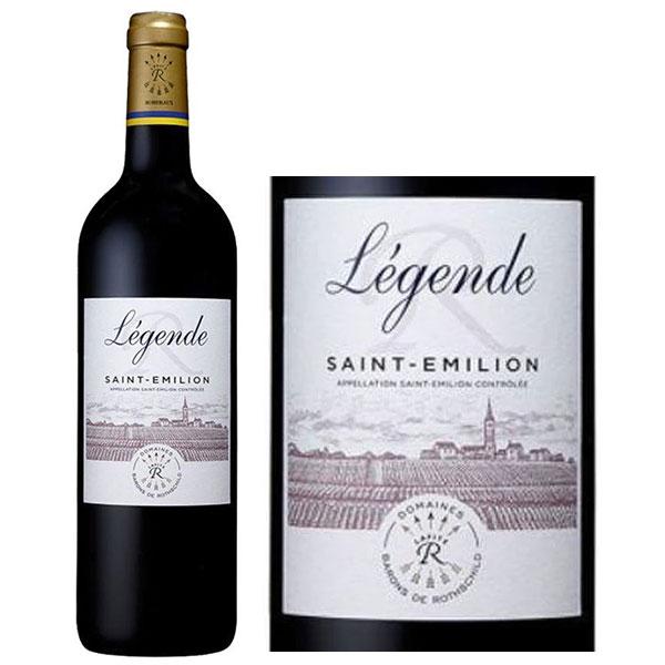 Rượu Vang Légende Saint - Émilion