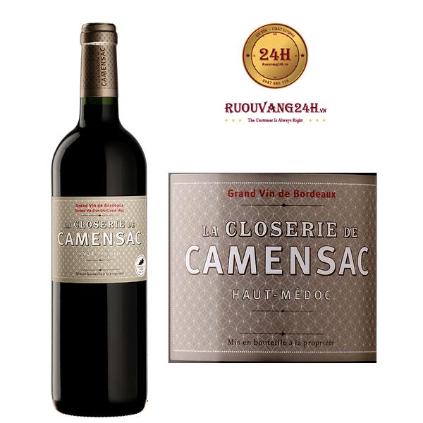 Rượu Vang La Closerie De Camensac