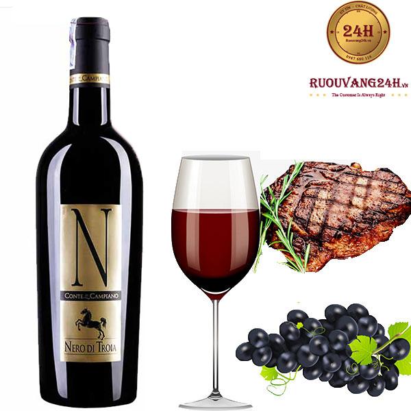 Rượu Vang N Nero Di Troia