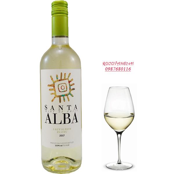 Rượu Vang Santa Alba Sauvignon Blanc