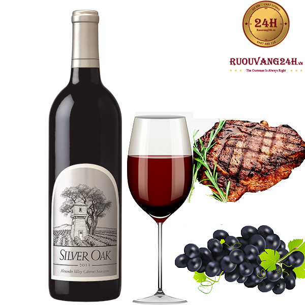 Rượu Vang Silver Oak Alexander Valley