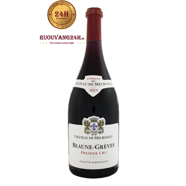 Rượu Vang Beaune Greves Premier Cru Chateau de Meursault