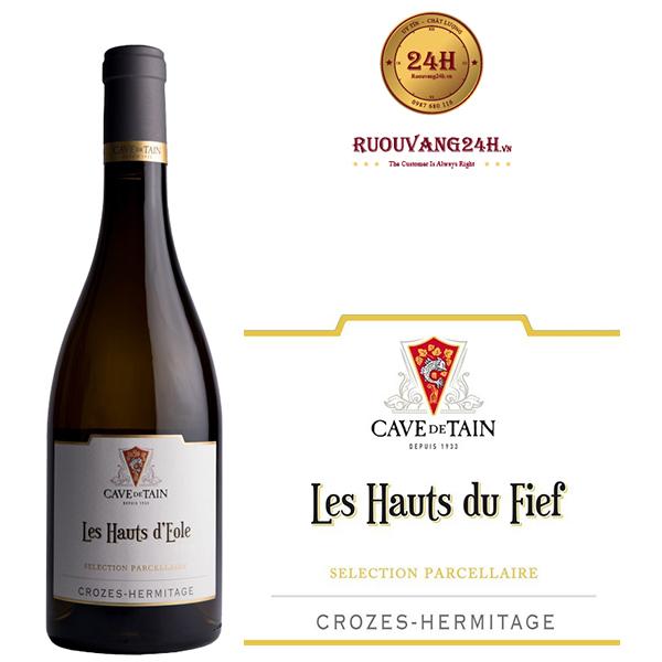 Rượu Vang Crozes Hermitage Les Hauts du Fief