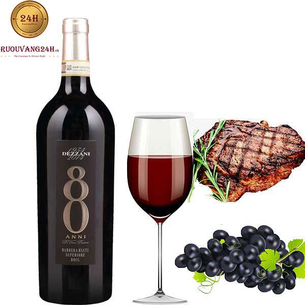 Rượu vang 80 Anni Docg Barbera