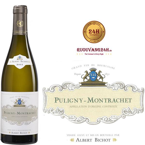 Rượu vang Albert Bichot Puligny Montraschet