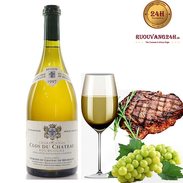 Rượu vang Bourgogne chardonnay