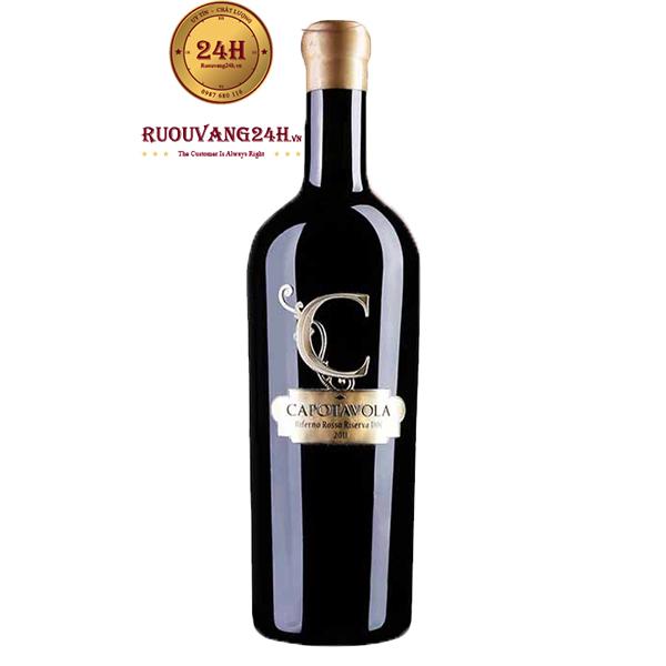 Rượu vang C Capotavola Biferno Rosso Riserva