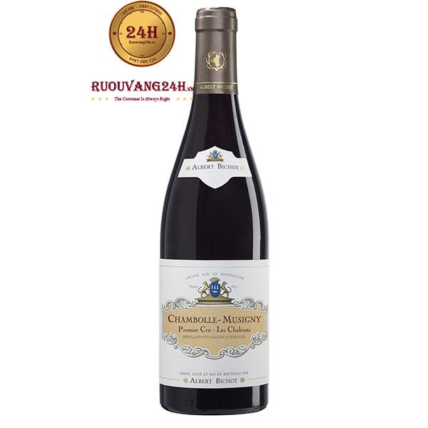 Rượu vang Chambolle Musigny Ler Cru Les Chabiots