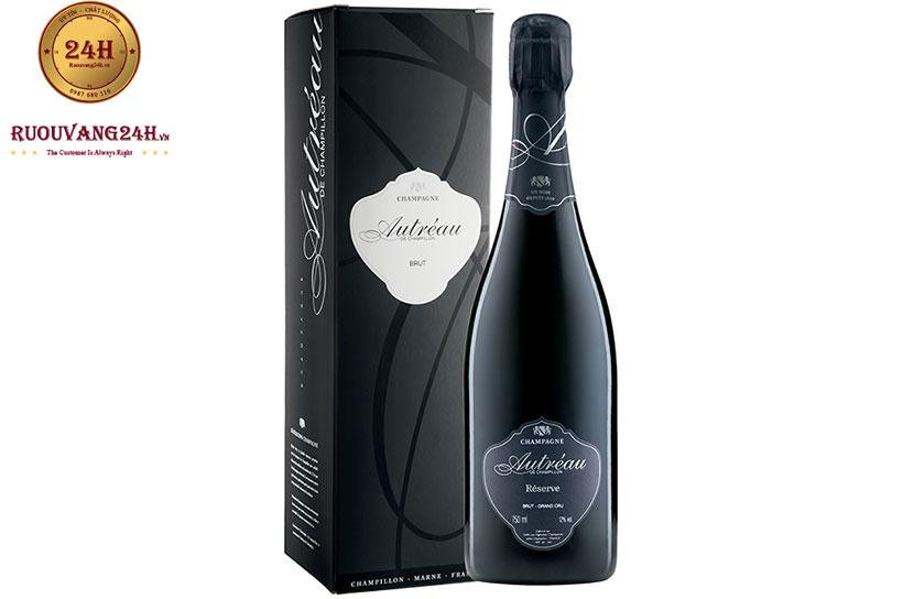 Rượu vang Champagne Autreau Brut Grand Cru