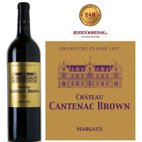 Rượu vang Chateau Cantenac Brown