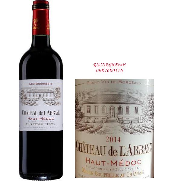 Rượu Vang Château De L'abbaye Haut-Médoc