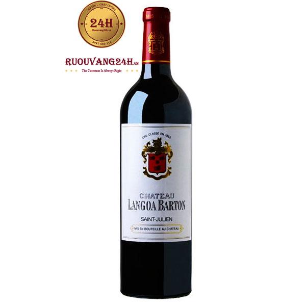Rượu vang Chateau Langoa-Barton 3eme Grand Cru Classe
