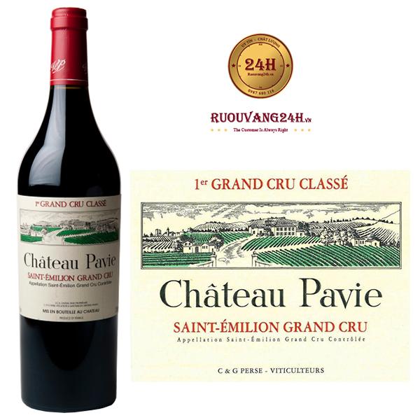 Rượu vang Chateau Pavie