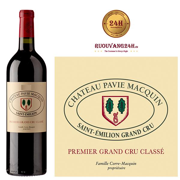 Rượu vang Chateau Pavie Macquin