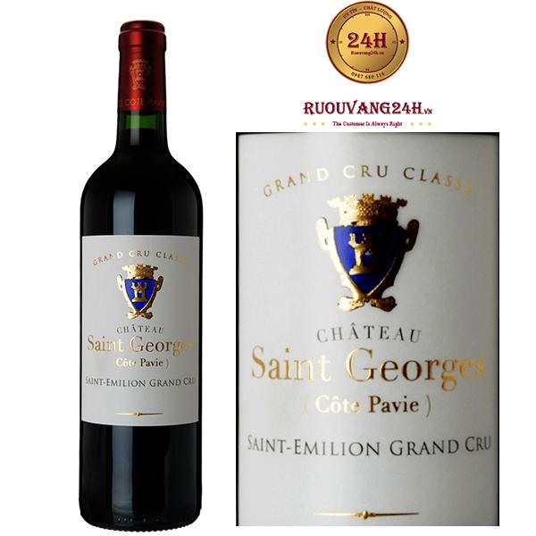 Rượu vang Chateau Saint George Saint Elimion