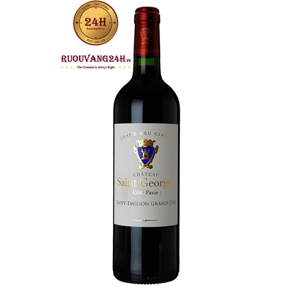 Rượu vang Chateau Saint George Saint Elimion Grand Cru