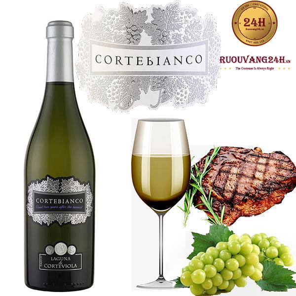 Rượu vang Corte Bianco Laguna Di Corteviola