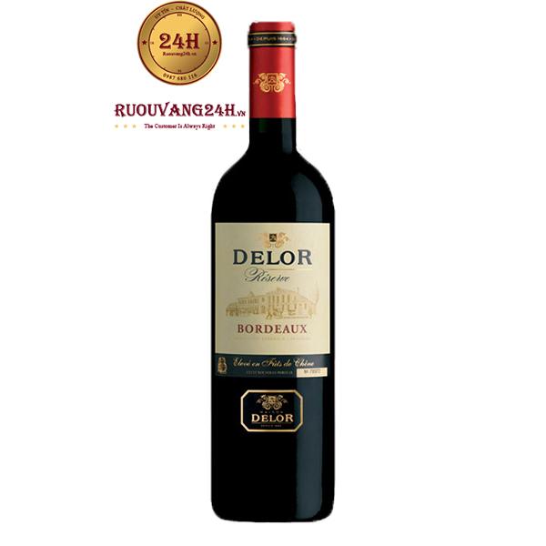 Rượu Vang Delor Bordeaux