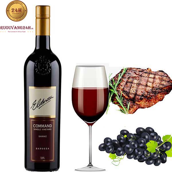 Rượu vang Elderton Command Single Vineyard