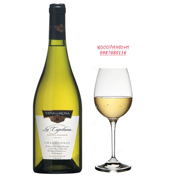Rượu vang La Capitana Barrel Reserva Chardonnay