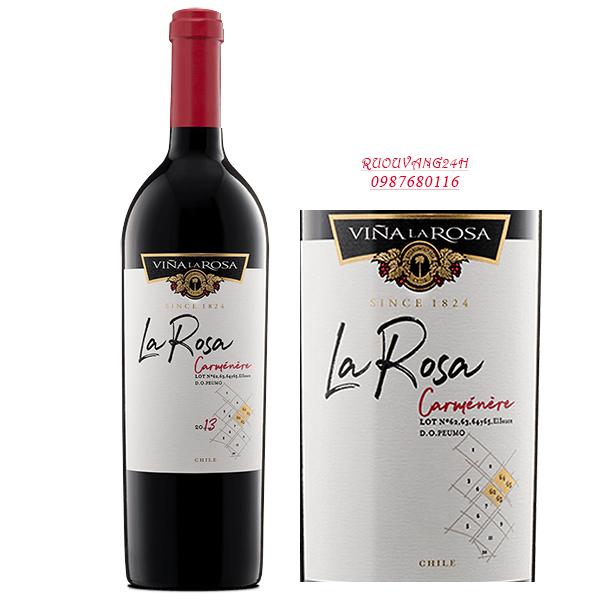 Rượu vangLa Rosa Icon Wine Carmenere