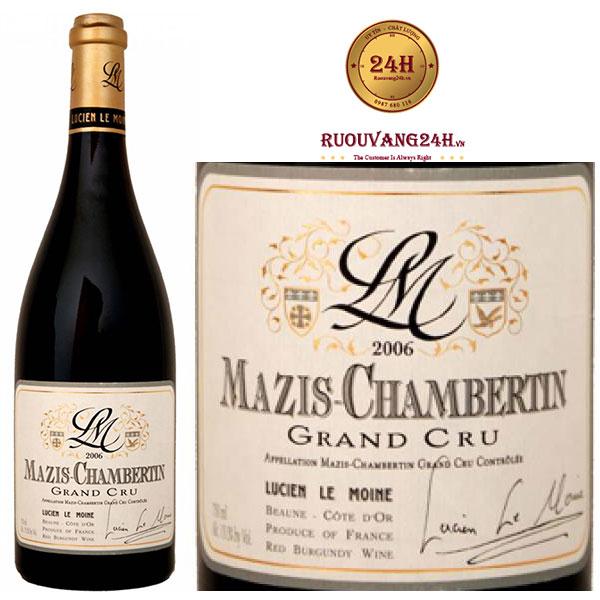 Rượu vang Mazis Chambertin Grand Cru