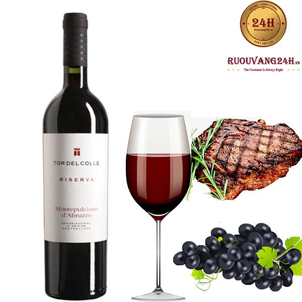Rượu vang Montepulciano D'arbruzzo Riserva