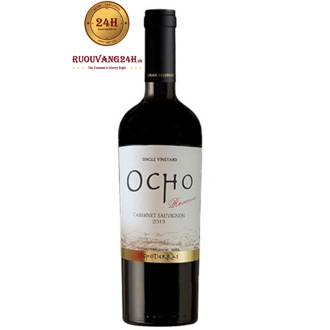 Rượu vang OCHO Reserva Cabernet Sauvignon
