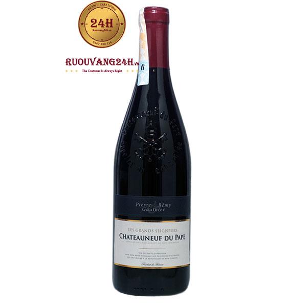 Rượu Vang Pierre & Remy Gauthier Chateauneuf Du Pape
