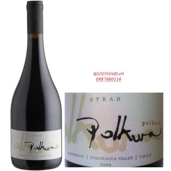 Rượu vang Polkura Shiraz