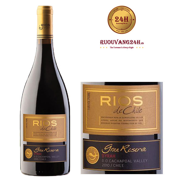 Rượu vang Rios De Chile Grand Reserva Syrah