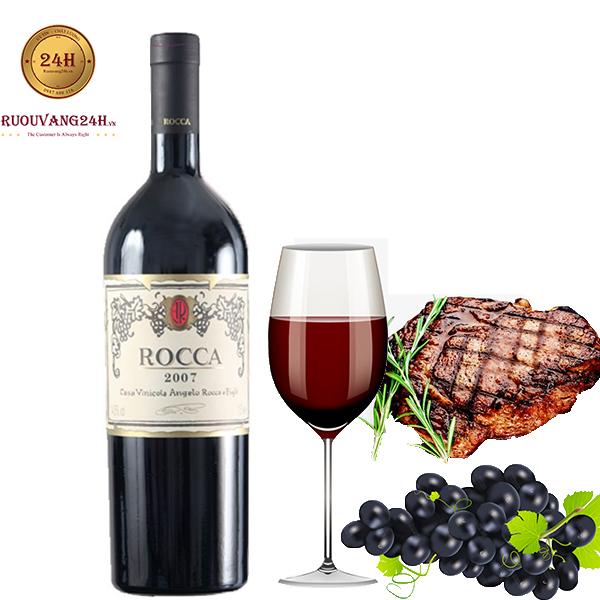 Rượu Vang Rocca Negroamaro