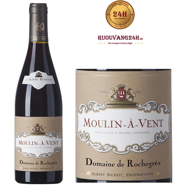 Rượu vang Rochegrès Moulin-à-Vent Domaine de Rochegrès