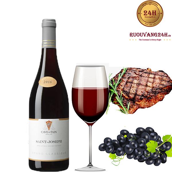 Rượu vang Saint-Joseph Grand Classique red