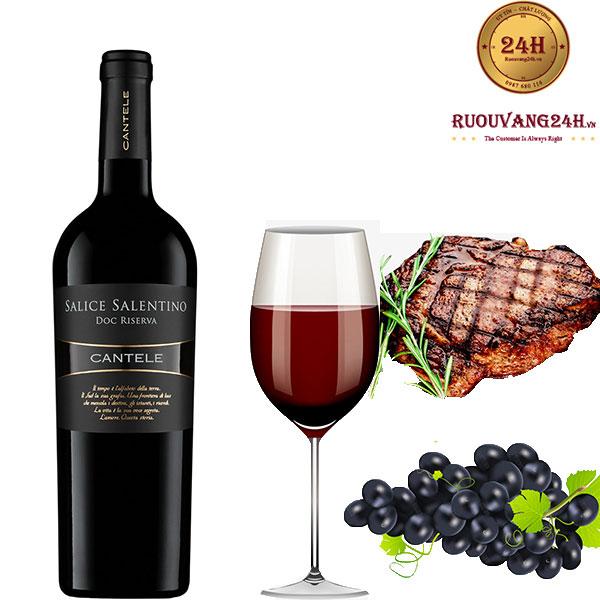 Rượu vang Salice Salentino Riserva