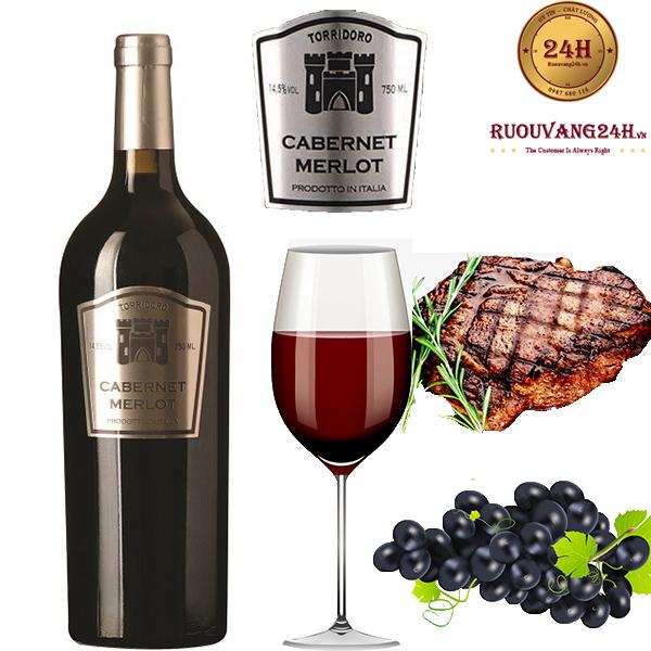 Rượu Vang TorriDoro Cabernet Merlot