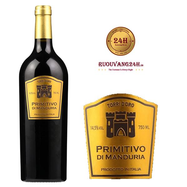 Rượu Vang TorriDoro Primitivo Di Manduria