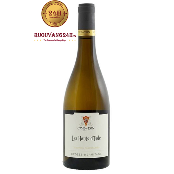 Rượu vang trắng Crozes-Hermitage Les Hauts D'eole