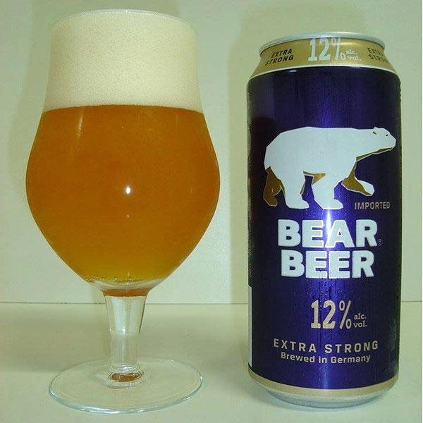 Bia Gấu Đức Bear Beer 12 Độ