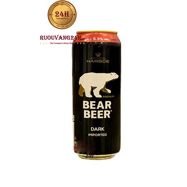 Bia Gấu Đức Bear Beer Dark Imported 5,3 Độ