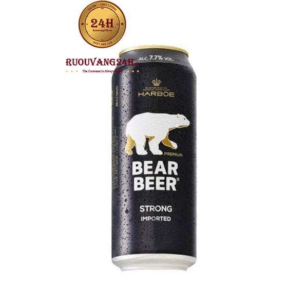 Bia Gấu Đức Bear Beer Strong 7,7 Độ
