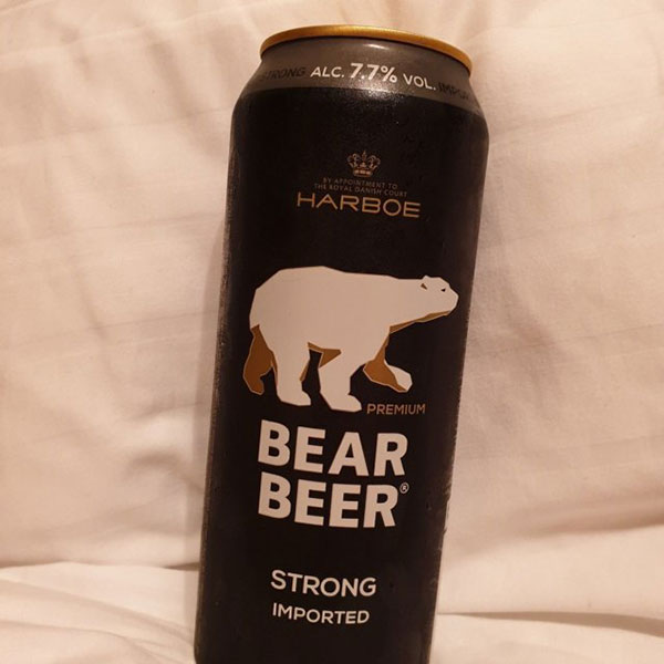 Bia Gấu Đức Bear Beer Strong