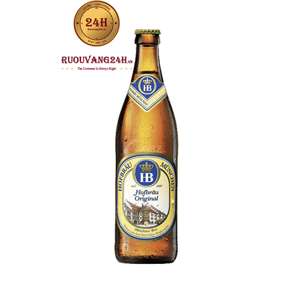 Bia Hofbrau Original 5,1 Độ – Nhập Khẩu Đức